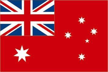 Fahne Australien Red Ensign 90 x 150 cm