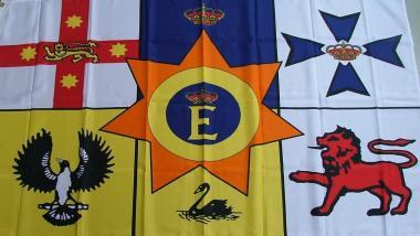 Fahne Australien Royal 90 x 150 cm