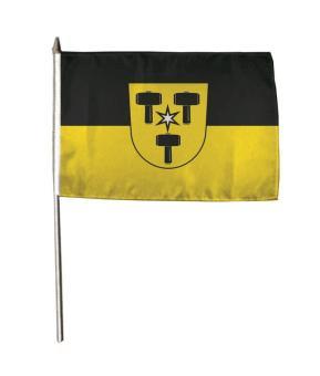Stockflagge Babenhausen (Schwaben) 30 x 45 cm