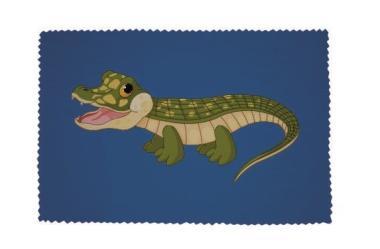 Glasreinigungstuch Baby Krokodil