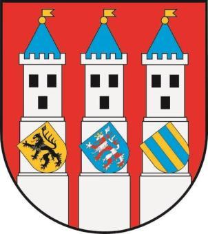Aufkleber Bad Langensalza Wappen