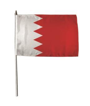Stockflagge Bahrain 30 x 45 cm