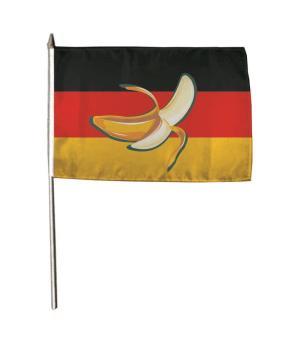 Stockflagge Bananenrepublik 30 x 45 cm