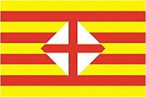 Flagge Barcelona Provinz