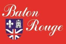 Aufkleber Baton Rouge City