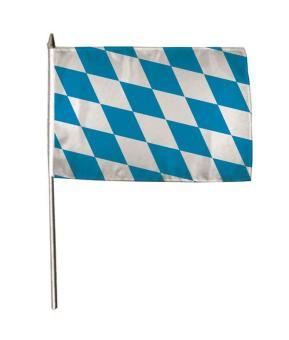 Stockflagge Bayern Raute 30 x 45 cm