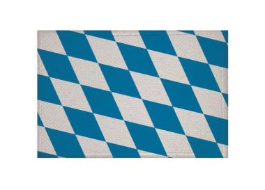 Aufnäher Bayern Raute Patch 9 x 6 cm