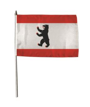 Stockflagge Berlin 30 x 45 cm