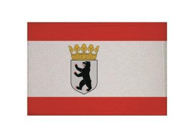 Aufnäher Patch Berlin Dienstflagge 9 x 6 cm