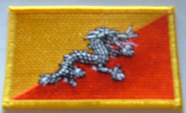 Aufnäher Bhutan