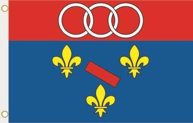 Fahne Bogny-sur-Meuse (Frankreich) 90 x 150 cm