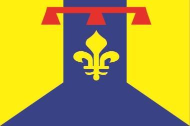 Flagge Bouches du Rhone Department