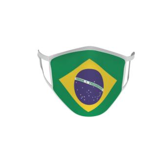 Gesichtsmaske Behelfsmaske Mundschutz Brasilien