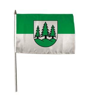 Stockflagge Braunlage 30 x 45 cm