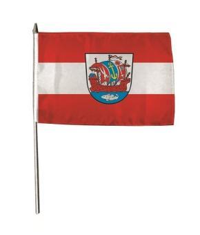 Stockflagge Bremerhaven 30 x 45 cm