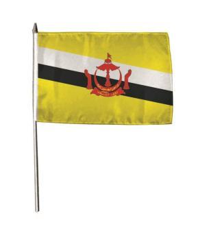 Stockflagge Brunei 30 x 45 cm