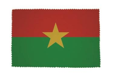 Glasreinigungstuch Burkina Faso