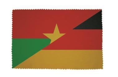 Glasreinigungstuch Burkina Faso - Deutschland