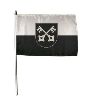 Stockflagge Burladingen 30 x 45 cm