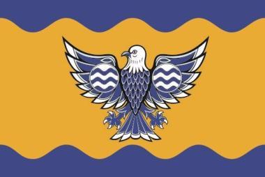 Flagge Burnaby City (Kanada)
