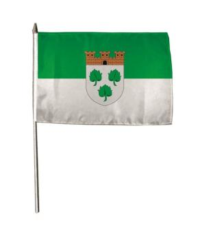 Stockflagge Burscheid 30 x 45 cm