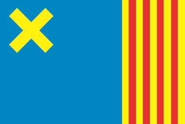 Flagge Camos Stadt (Spanien)