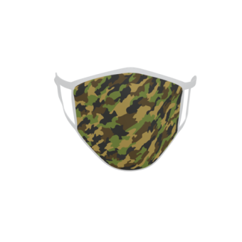 Gesichtsmaske Behelfsmaske Mundschutz Camouflage Tarn Motiv Nr. 1 L