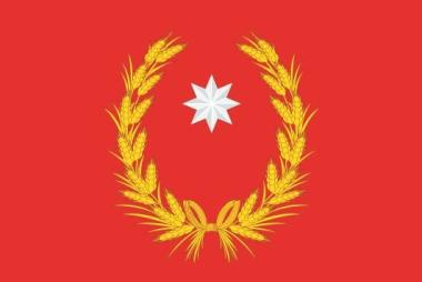 Flagge Campobasso Provinz Italien
