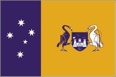 Miniflag Capital Territory 10 x 15 cm