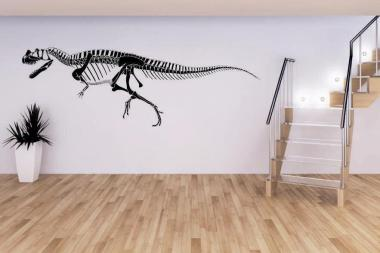 Wandtattoo Ceratosaurus Skelett