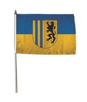 Stockflagge Chemnitz 30 x 45 cm