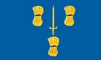 Miniflag Cheshire 10 x 15 cm