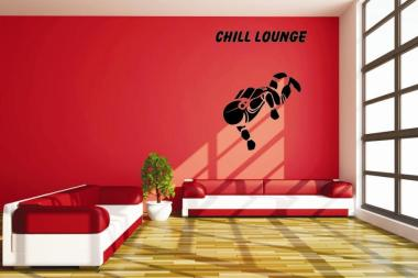 Wandtattoo Chill Lounge