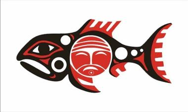 Fahne Chinook Nation 90 x 150 cm