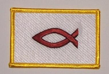 Aufnäher Christenfisch