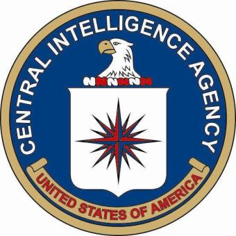 Aufkleber CIA Siegel Seal