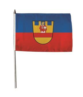Stockflagge Cloppenburg 30 x 45 cm