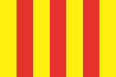 Aufkleber Comte de Foix Provinz