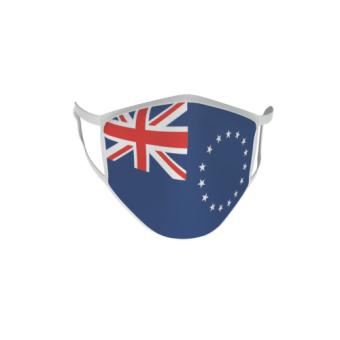 Gesichtsmaske Behelfsmaske Mundschutz Cook Inseln
