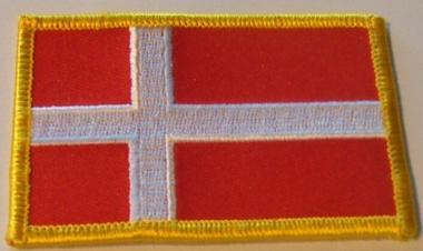 Aufnäher Dänemark
