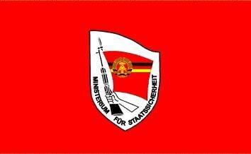 Fahne DDR Ministerium für Staatssicherheit STASI 90 x 150 cm
