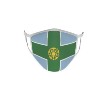 Gesichtsmaske Behelfsmaske Mundschutz Derbyshire County
