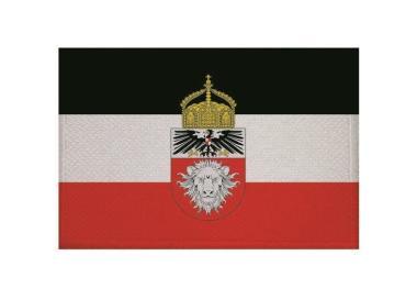 Aufnäher Patch Deutsch Ostafrika mit Krone 9 x 6 cm