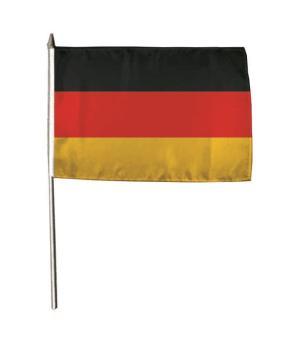 Stockflagge Deutschland 30 x 45 cm