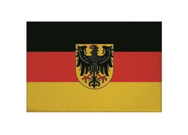 Aufnäher Patch Dienstflagge zu Land Weimarer Republik 9 x 6 cm