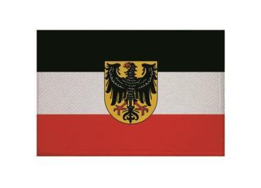 Aufnäher Patch Dienstflagge zur See Weimarer Republik 9 x 6 cm