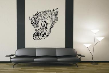 Wandtattoo Dragon Motiv Nr. 14