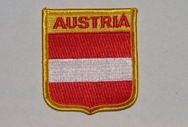 Wappenaufnäher Österreich Austria