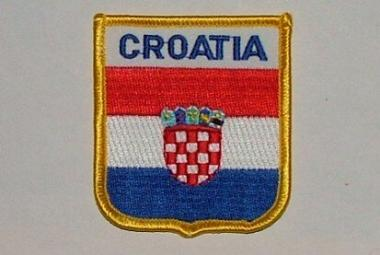 Wappenaufnäher Kroatien Croatia