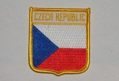 Wappenaufnäher Tschechien Czech Republic